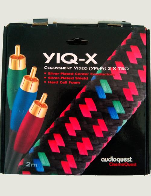 Компонентный видеокабель Audioquest YIQ-X - посеребренный
