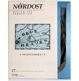 Кабель межблочный RCA-RCA Nordost Blue Heaven 2ft.