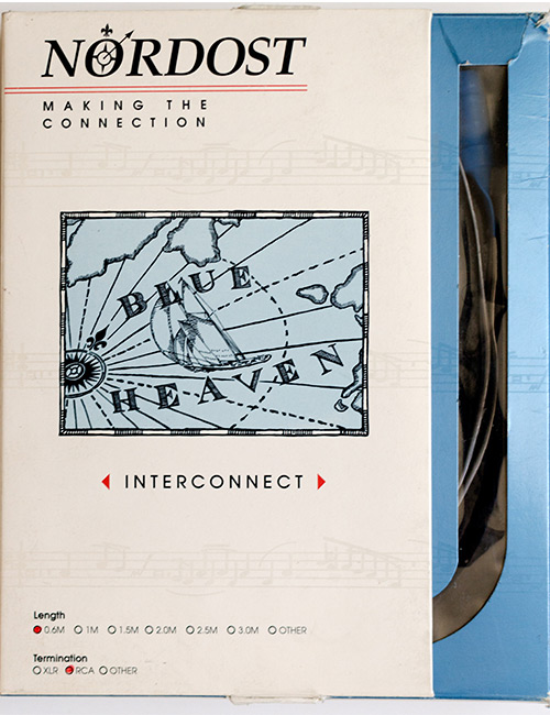 Interconnect cabel RCA-RCA Nordost Blue Heaven 2ft.