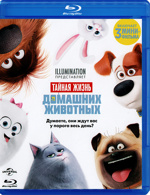 Blu-ray disc 'The Secret Life of Pets'