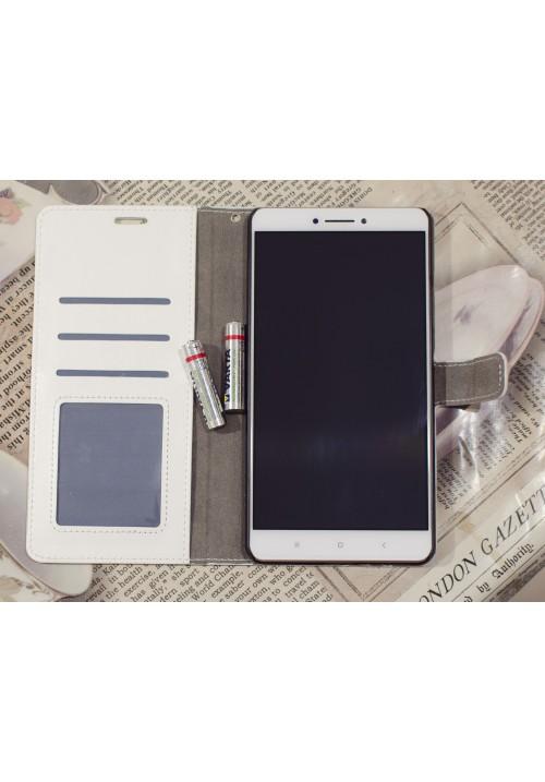 Кожаный чехол-флип к смартфонам Xiaomi Mi Max