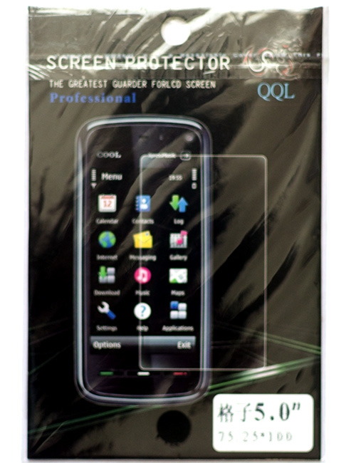 Screen Protector Film (5 Inch Smartphone)