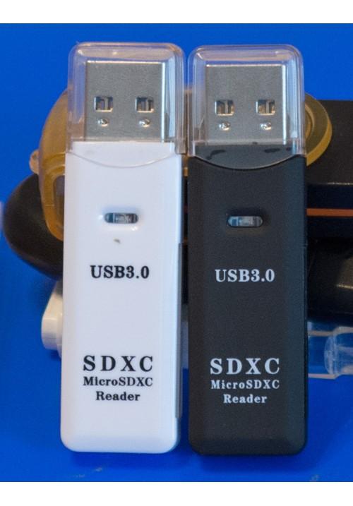 SD кард ридер USB 3.0 высокоскоростной MicroSD /SD / SDHC / SDXC / TF