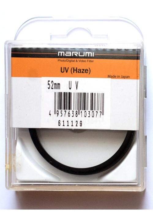 Фильтр 52mm Marumi UV(Haze)