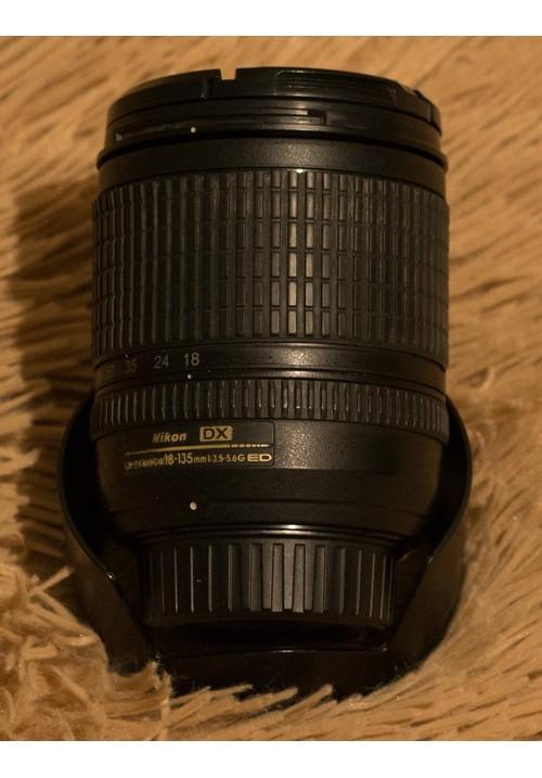 Объектив Nikon DX AF-S Nikkor 18-135mm F3.5-5.6G ED SWM IF Aspherical