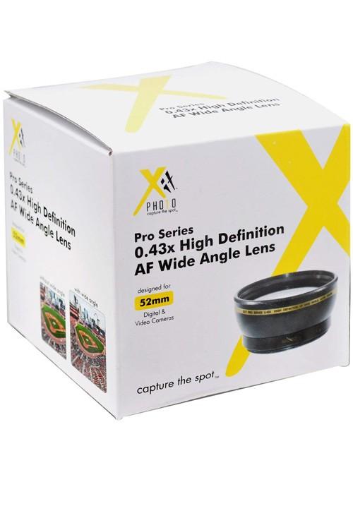 Xit XT52WAB 52mm 0.43 Pro Wide Angle Lens