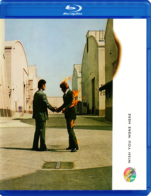 Blu-ray disc Pink Floyd 'Wish You Were Here'