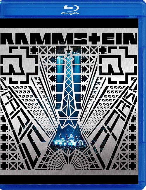 Blu-ray disc Rammstein 'Paris'