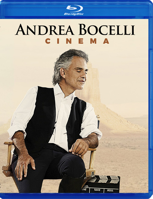 Blu-ray disc Andrea Bocelli 'Cinema'