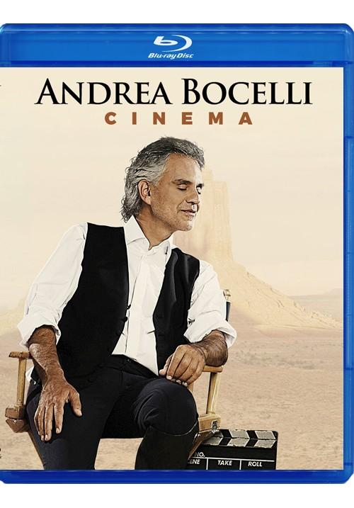 Blu-ray disc Andrea Bocelli 'Cinema'