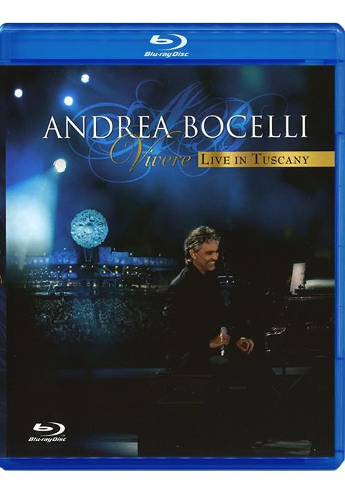 "Blu-ray фильм (блюрей диск) Andrea Bocelli ""Vivere Live in Tuscany"""