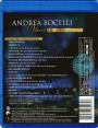 "Blu-ray disc Andrea Bocelli ""Vivere Live in Tuscany"""