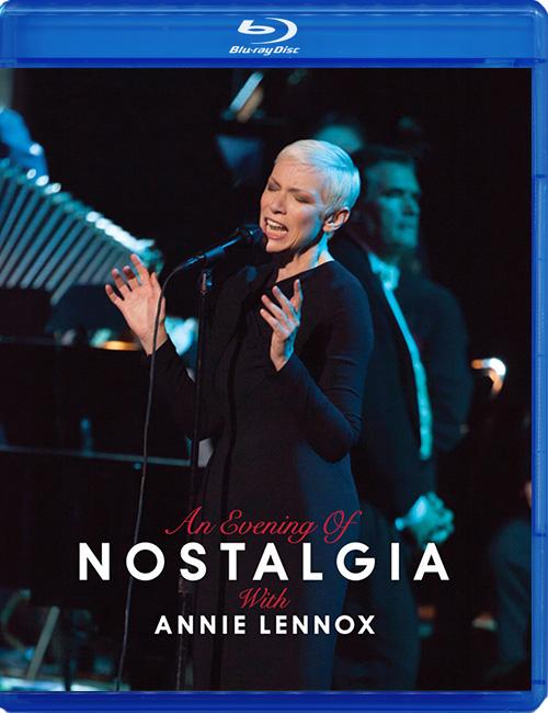 Blu-ray disc Anie Lennox 'Nostalgia'