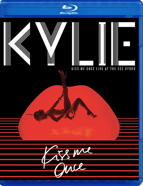 Blu-ray disc Kylie Minogue 'Kiss Me Once'
