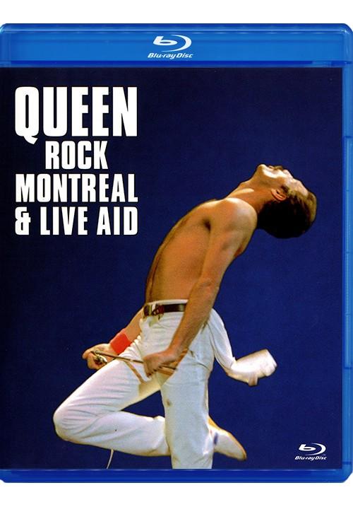 "Blu-ray фильм (блюрей диск) Queen ""Rock Montreal & Live Aid"""