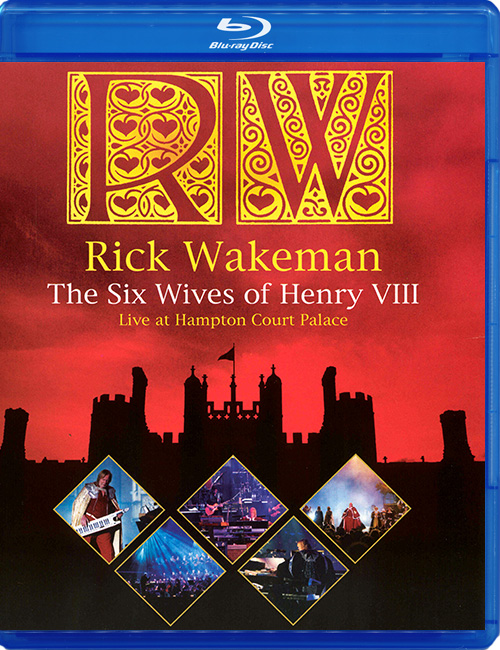 "Blu-ray фильм (блюрей диск) Rick Wakeman ""The Six Wives of Henry VIII"""