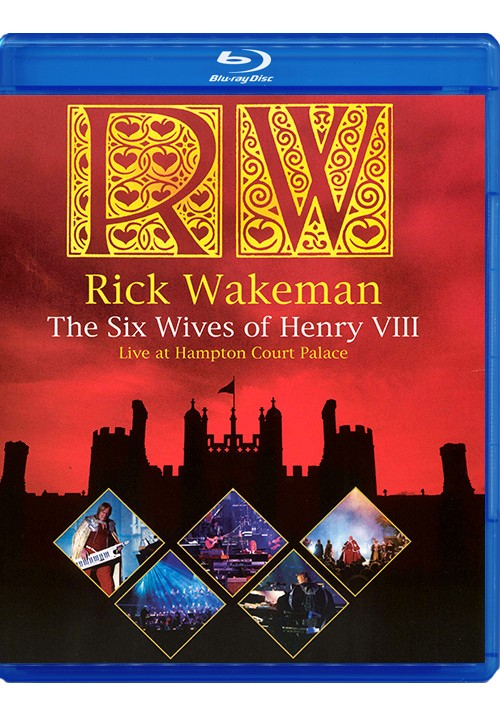 "Blu-ray фильм (блюрей диск) Rick Wakeman ""The Six Wives of Henry VIII"""