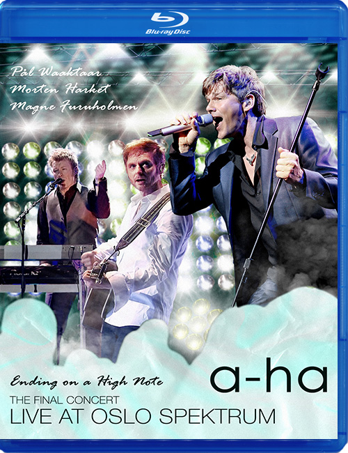 "Blu-ray disc A-Ha ""Ending on a High Note"""