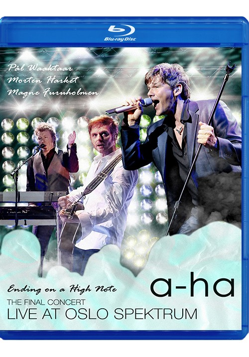 "Blu-ray фильм (блюрей диск) A-Ha ""Ending on a High Note"""