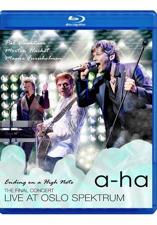 "Blu-ray disc A-Ha ""Ending on a High Note"""