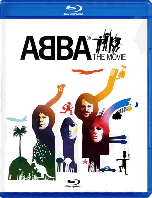 "Blu-ray disc ABBA ""The Movie"""