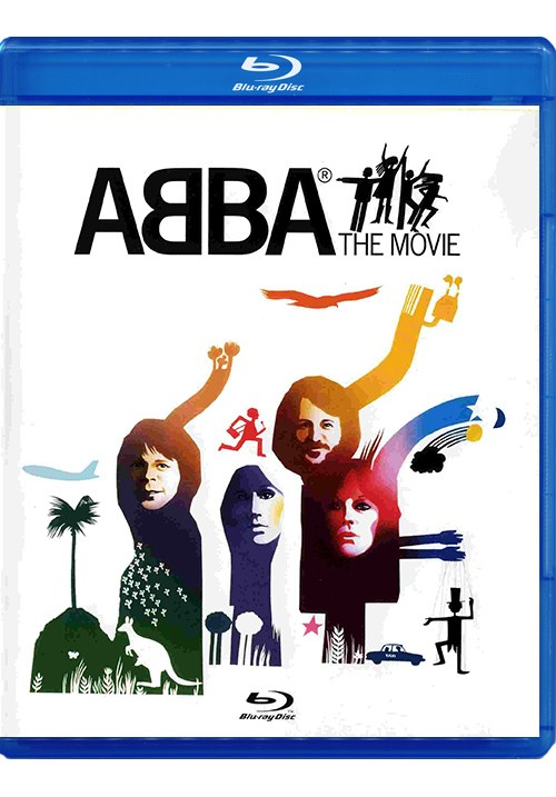 "Blu-ray фильм (блюрей диск) ABBA ""The Movie"""